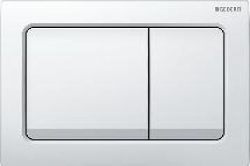 Actuator plate alpha10 dual flush chrome plated