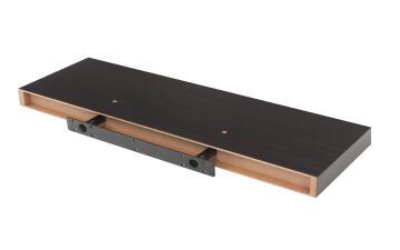 Floating shelf walnut 80x23cm