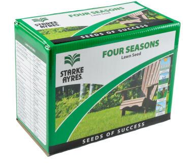 Lawn Seed, 4 Seasons, STARK AYRES, 500g