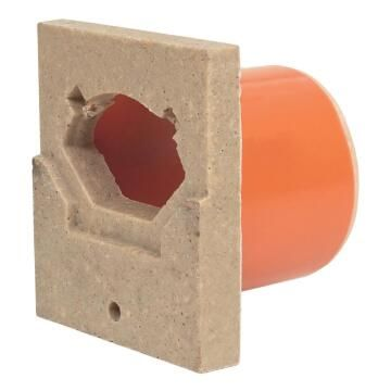 Polymer Drain End Cap Outlet H55 DN60 ACO