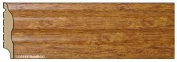 Skirting Polymer Curved Bamboo-15x75x2700mm-pack of 2