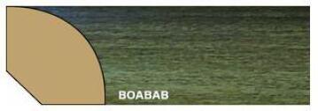 Quarter Round Polymer Baobab-16x16x2700mm-pack of 2