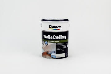 INTERIOR/EXTERIOR PAINT DURAM WALL & CEILING SOFT CLOUD 5L