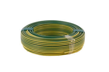HOUSE WIRE 2.5MM GREEN AND YELLOW 50M