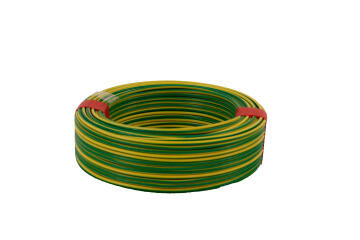House wire 1.5mm green and yellow 50m