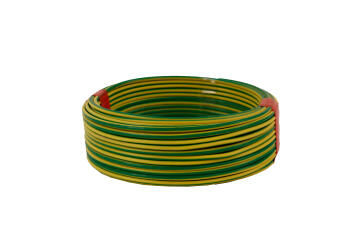 HOUSE WIRE 1.5MM GREEN AND YELLOW 20M