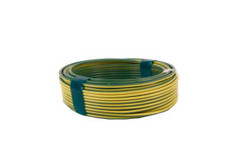 HOUSE WIRE 2.5MM GREEN AND YELLOW 20M