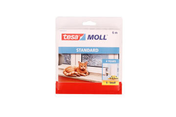 Standard I-Profile TESAMOLL white 6m x 9mm x 4mm