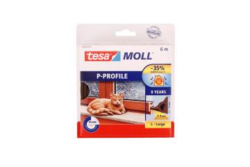 P-Profile TESAMOLL brown 6m x 9mm x 5.5mm