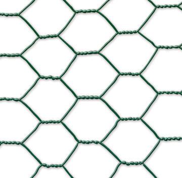 Fence Galvanex Plasticized Green 1 m X 5 m