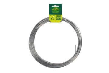 Wire Galvanised Nortene 2Mmx25M Rust Free Easy To Use