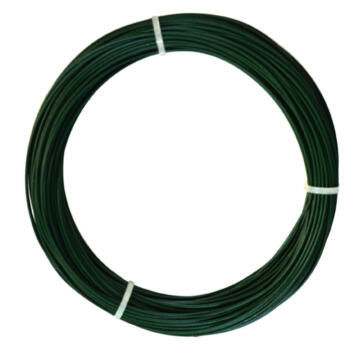 Wire Green Nortene 1.2Mmx25M Plastic Coated Wire