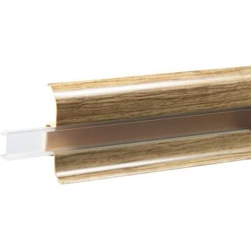 Skirting PVC Transparent Strip for Led Ribbon Transparent