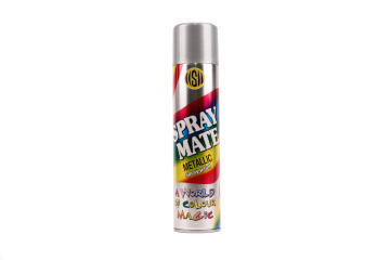 SPRAYMATE METALLIC SPRAY 250ML SPRKL SIL