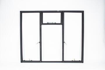 Window Steel Side Hung ND4F F7 (standard profile)-w1486xh1220mm