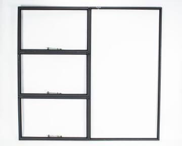 Window Steel Top Hung TD678 Right Hand Opening F7 (standard profile)-w1975xh1848mm