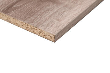 Plank Melamine on Chip Monument Oak Linear 16mm thick-2750x600mm