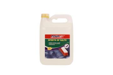 Heavy duty cleaner spirit of salts POWAFIX 5 litres