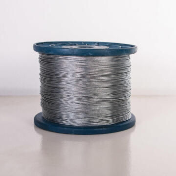 Alarm wire braided aluminium 1.1mm 700m