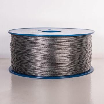 Alarm wire braided aluminium 1.6mm 1000m