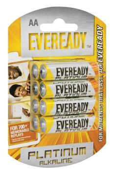 Battery alkaline EVEREADY AA / LR6 x8