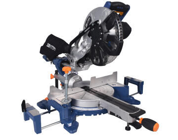 Sliding Mitre Saw Dexter Power 2000 Watts 255Mm