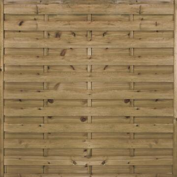 Screen Wooden Lucas - 180 cm X 180 cm