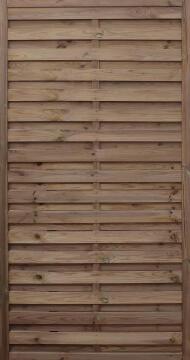 Screen Wooden Noa brown 90 cm x 180 cm