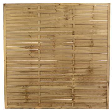Screen Wooden Natura 180 cm x 180 cm