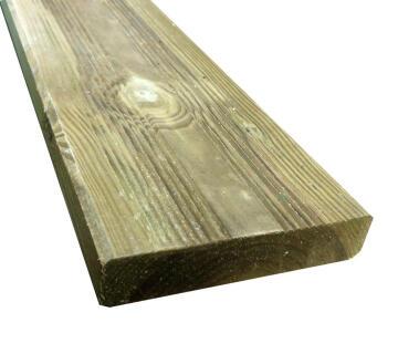 Decking Board Cl Iv 27 mm X 120 mm X 2400 mm