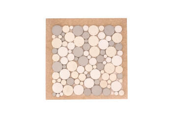 Mosaic Resin Calico Grey 300x300mm