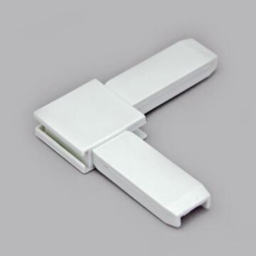 Mosquito Net Kit 4 Angles White for Aluminium Profiles