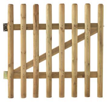 Gate Wooden Buffalo - 100 cm X 100 cm