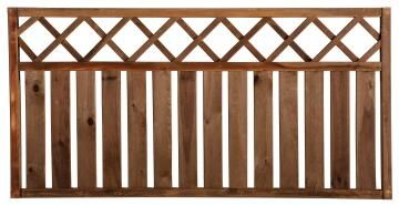 Fence Wooden Rodeo Brown - 90 cm X 180 cm