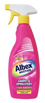 Carpet shampoo spray ALBEX NOSTAIN 500ml