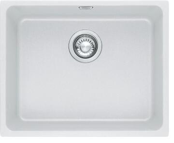 Kitchen sink 1square bowl FRANKE KBG110-50 white resine stone 540mmx440mm X200mm