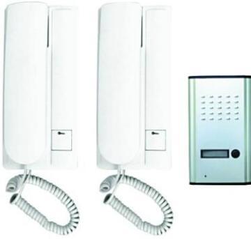 Intercom audio wired 1 transmitter - 2 receivers