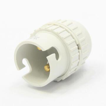 Bulb holder B22 with thread