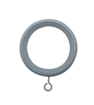 Curtain Rod Rings INSPIRE Glossy White x10
