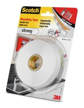 Mounting tape double face strong 19mmx5m scotch