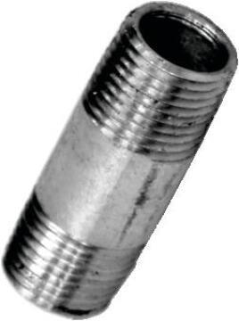 """Nipple barrel galvanised 1/2"""""""