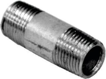 """Nipple barrel galvanised 3/4"""" x 54mm"""