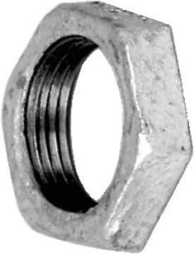 Backnut galvanised 1/2""