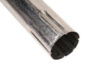 Galvanized Steel Round Downpipe 75mm x 1.8m PREMIER