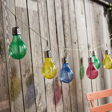Bulbs solar INSPIRE Ezine 4 colours