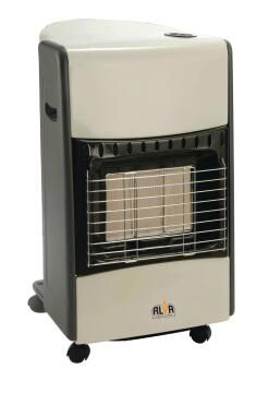 GAS HEATER 3 PANEL INFRARED CREAM/BLACK