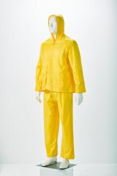Safety Rainsuit Dromex Rubberized Yellow Size 3Xlarge