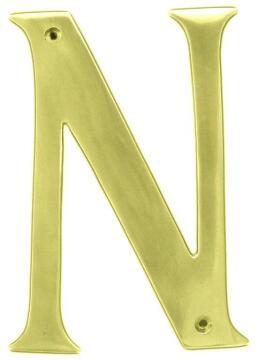 NUMERAL 50MM 3 BRASS