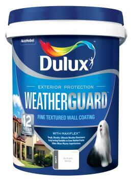 Paint exterior fine textured DULUX WEATHERGUARD Beige Sand 20L,