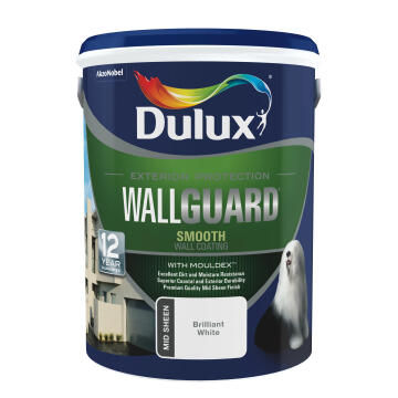 Paint exterior suede mid-sheen DULUX WALLGUARD California 5L,